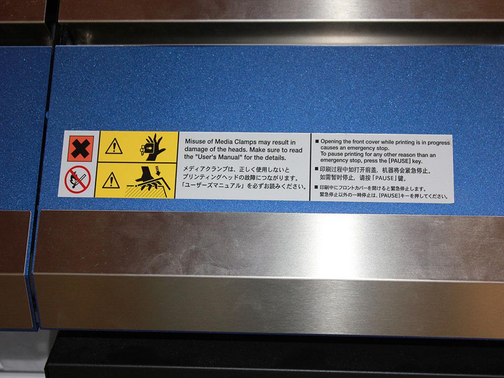 Etichette adesive per l'industria